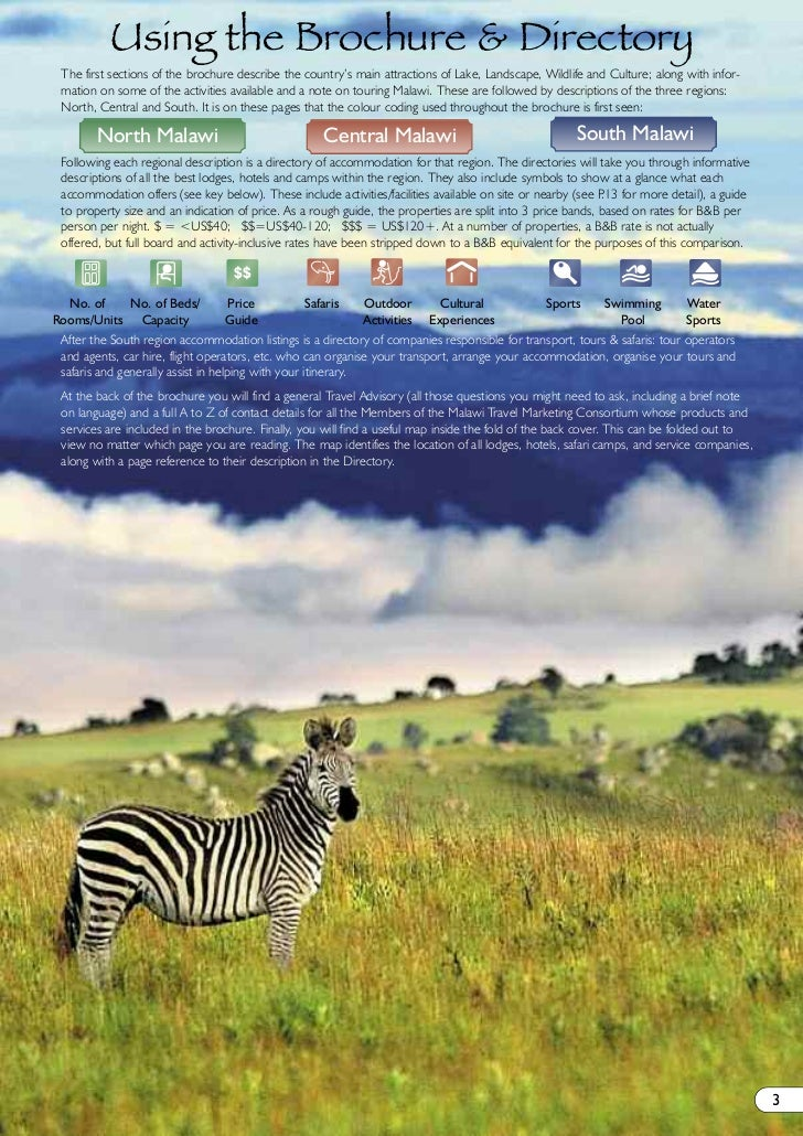 The Best of Malawi eBrochure 2011