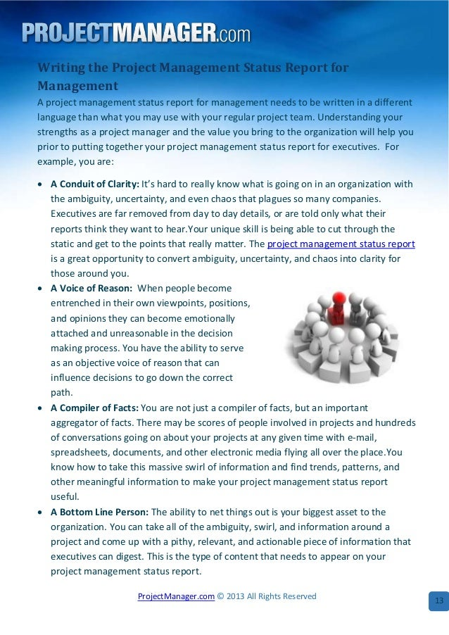 Sample Project Report For Project Management - Project