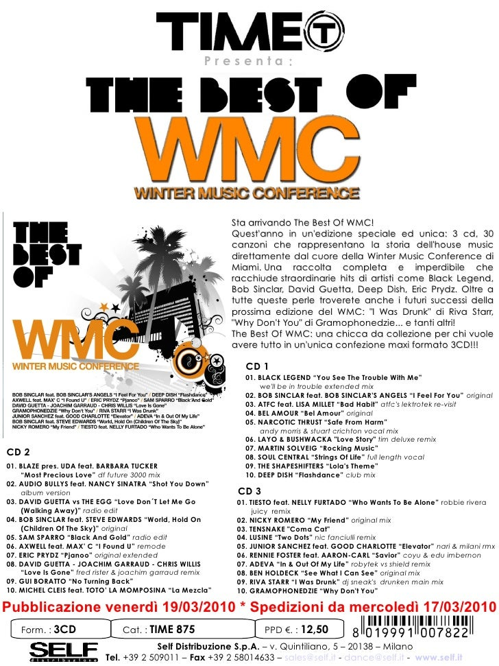 Presenta:                                                              Sta arrivando The Best Of WMC!                     ...