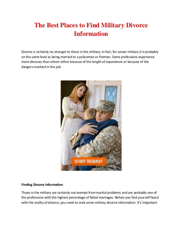 The best places to find military divorce information 1 638gcb1378434240 the best places to find military divorce information divorce is certainly no stranger to those in solutioingenieria Images