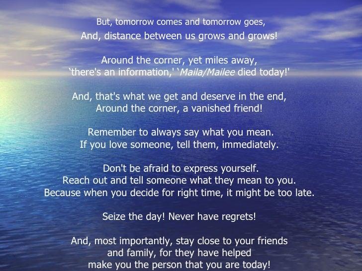 The Best Poem Speak Of Your Mind