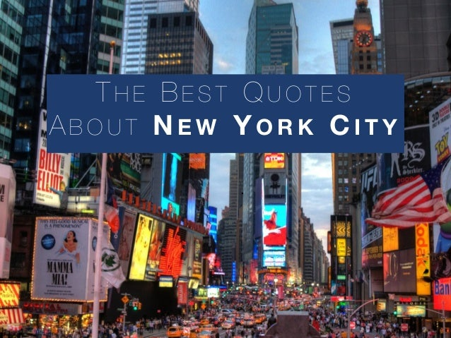 the best quotes about new york