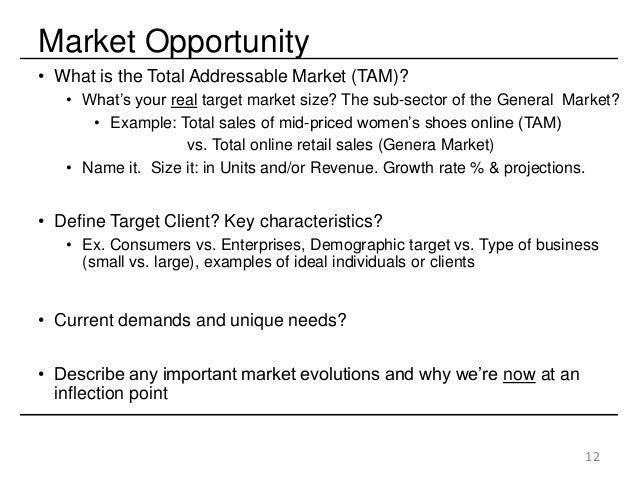 venture capital proposal example
