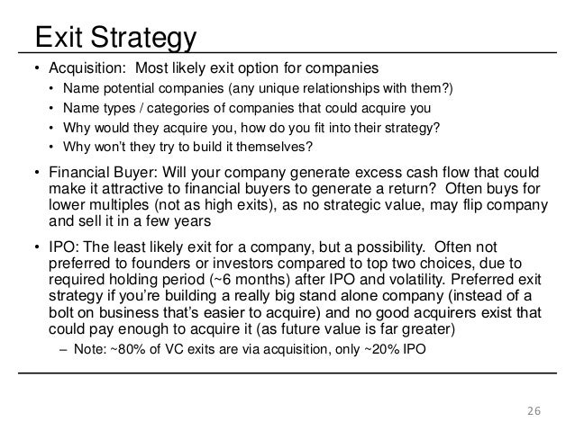Why do vcs and angels exit thgrough ipo