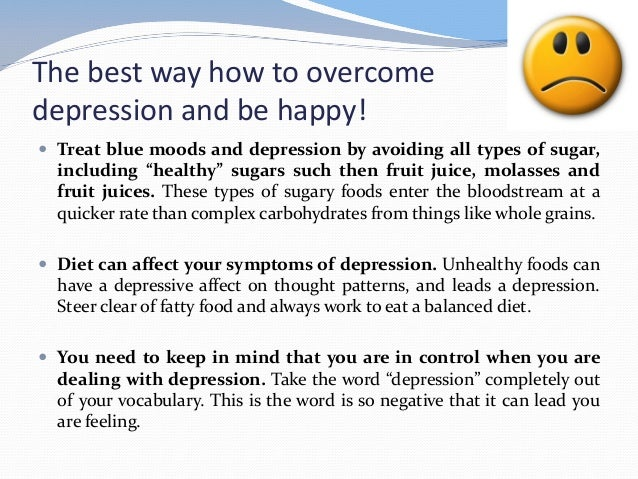 Best Foods To Eat For Depression
