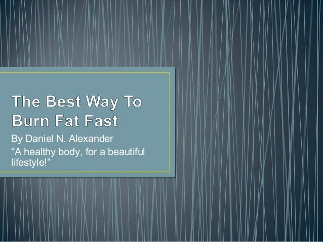"""By Daniel N. Alexander""""A healthy body, for a beautifullifestyle!"""""""