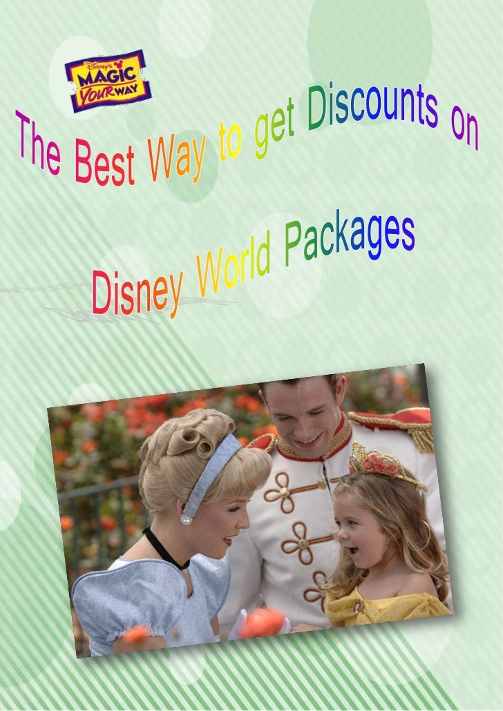 The Best Way to get                             Discounts on                      Disney World Packages   Everyone knows t...