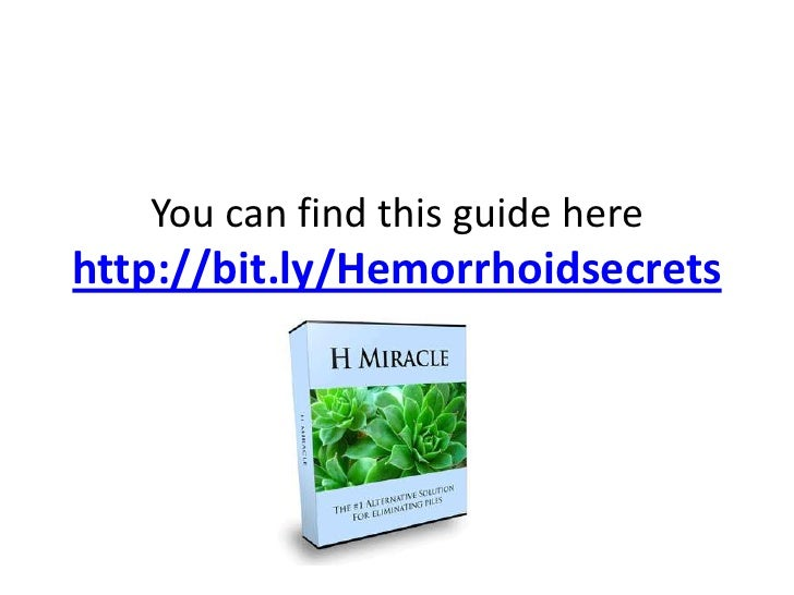 The Best Way To Get Rid Of Hemorrhoids