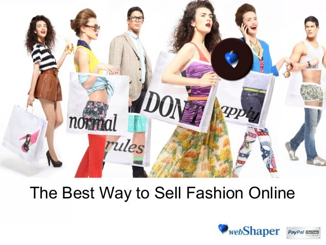Ways to sell clothes online