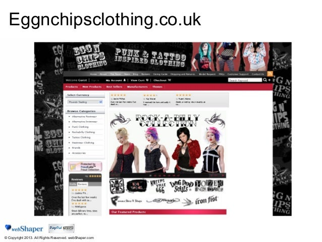 The Best Way To Sell Fashion Online 2013 Web Shaper