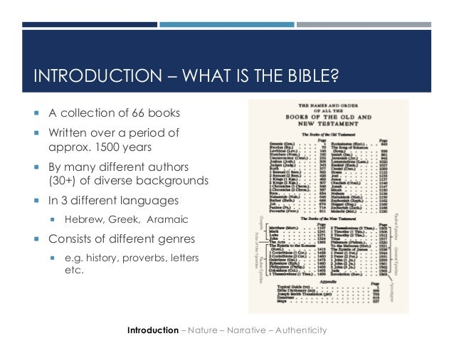 is the bible a history book