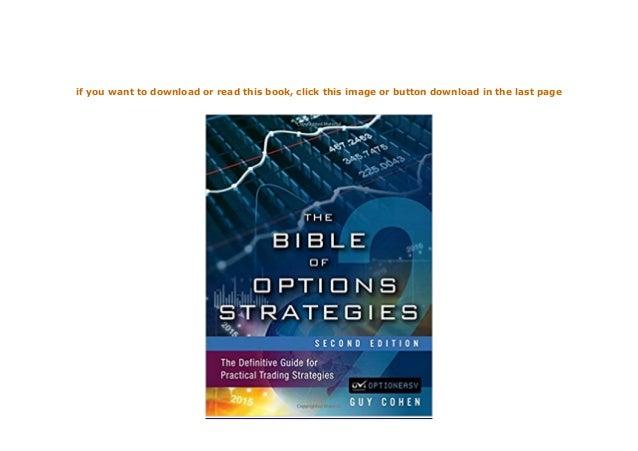 Bible of Options Strategies - E-bok - Guy Cohen ...