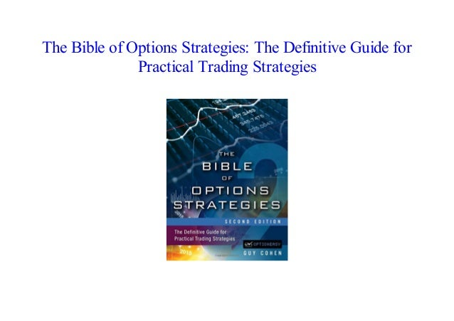 [PDF] The Bible of Options Strategies: The Definitive Guide for Pract…