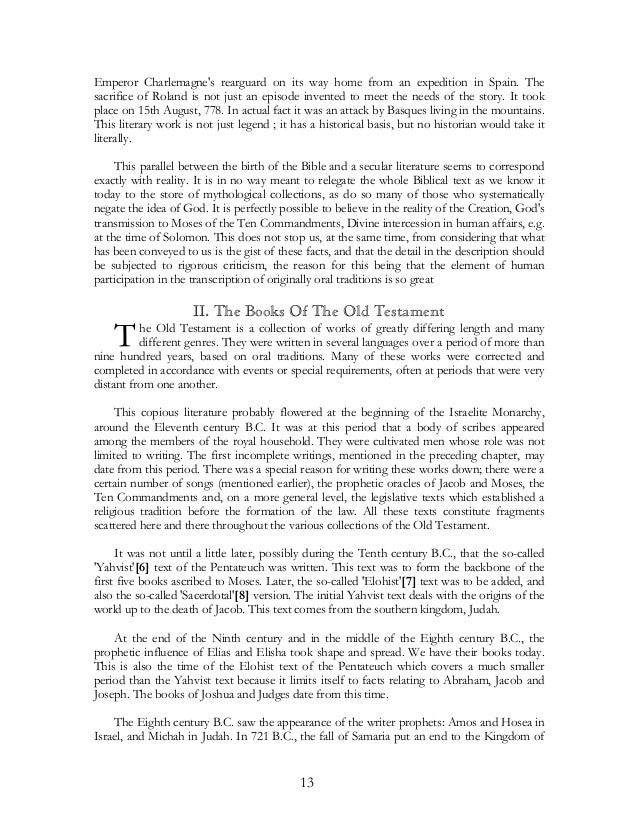 The Old Testament Pdf