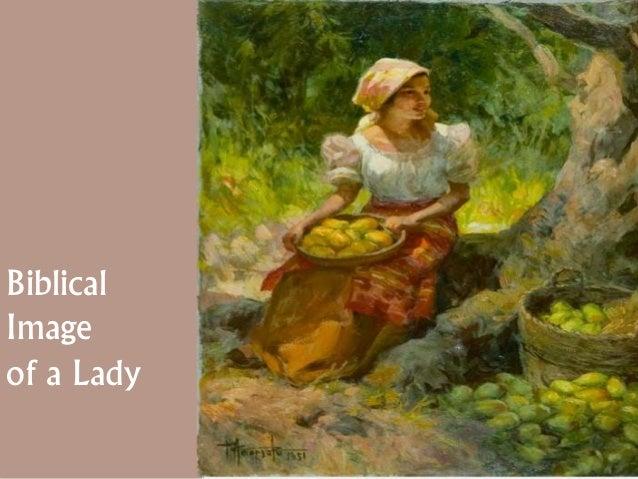 Biblical Image of a Lady