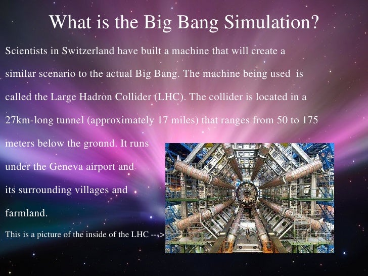 Image result for Big bang simulation