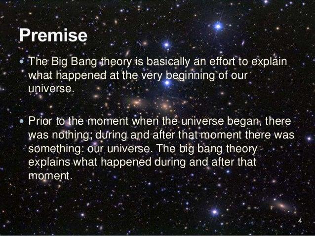 summary of bigbang theory