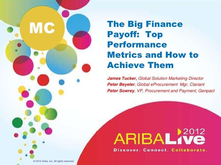 MC                                        The Big Finance                                          Payoff: Top            ...