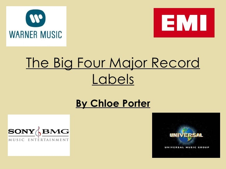the big four major record labels