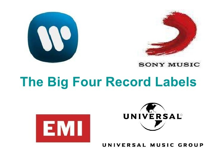 The Big Four Record Labels