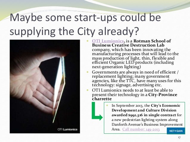  OTI Lumionics, is a Rotman School of Business Creative Destruction Lab company, which has been innovating the manufactur...