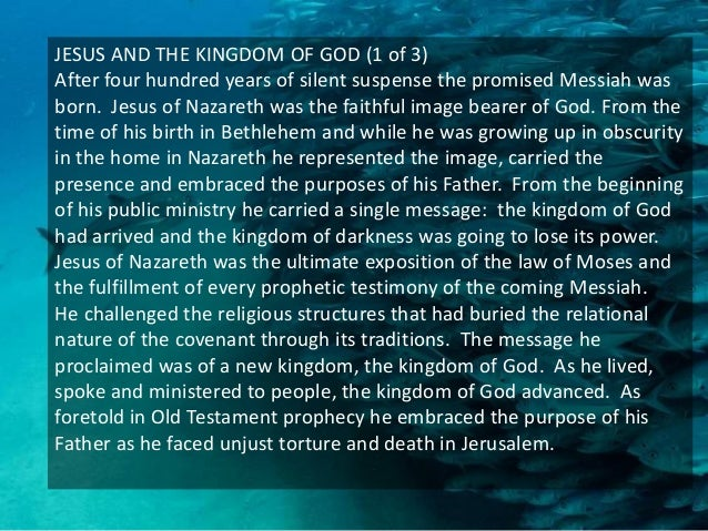 THE NEW HEAVENS AND THE NEW EARTH (2 OF 2) It is the work of bringing everything back under the rule of his Son, Jesus Chr...
