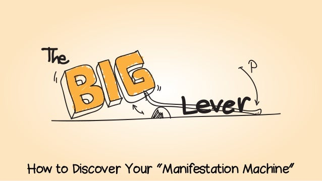 """How to Discover Your """"Manifestation Machine"""""""