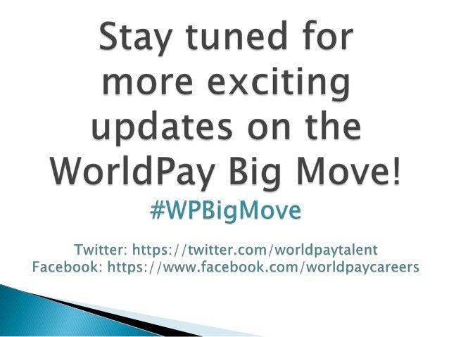 WorldPay Big Move