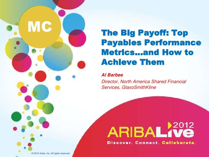 The Big Payoff - Top Payables Performance Metrics and How ...