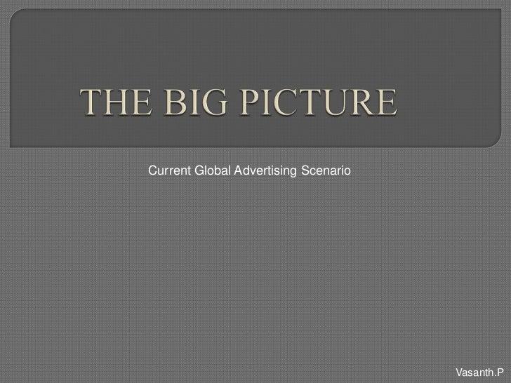 Current Global Advertising Scenario                                      Vasanth.P