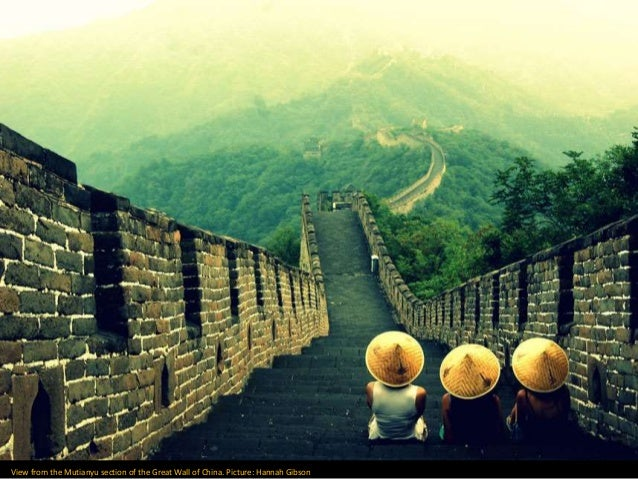 big view photography. The Big Picture, Photography Competition. View From Mutianyu Section Of Great Wall China.