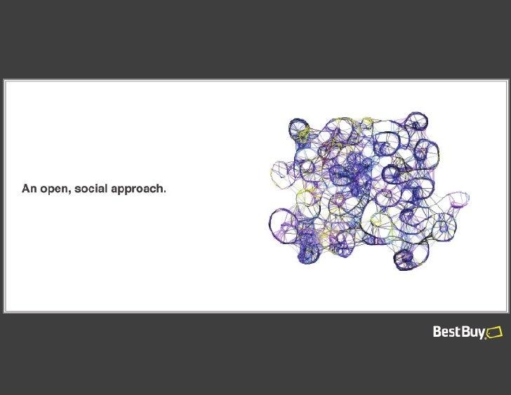 An open, social approach