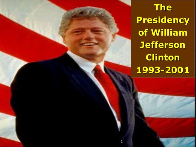 The Bill Clinton Era The 1990s And The New Millennium
