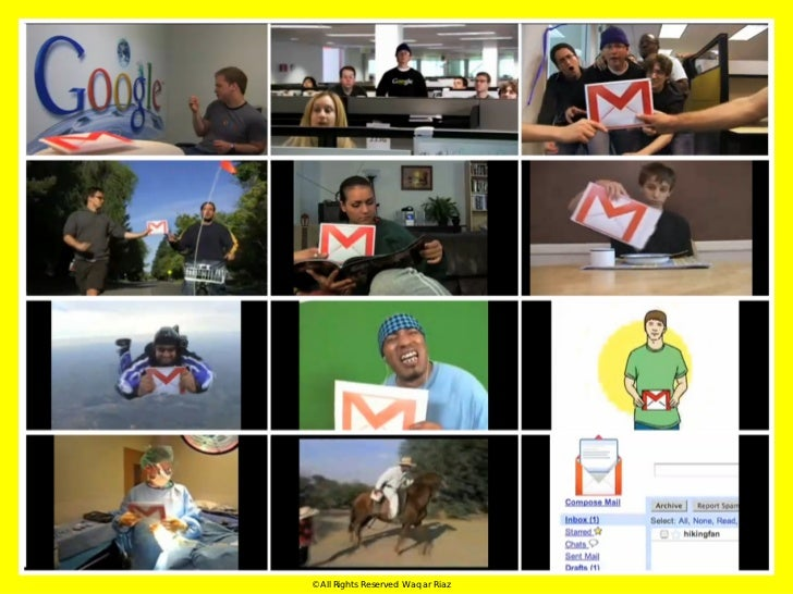even simpler, 'Take a look at the collaborative video we started, and      then film what happens next. We'll rotate a sel...