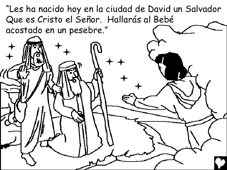The birth of jesus spanish cb