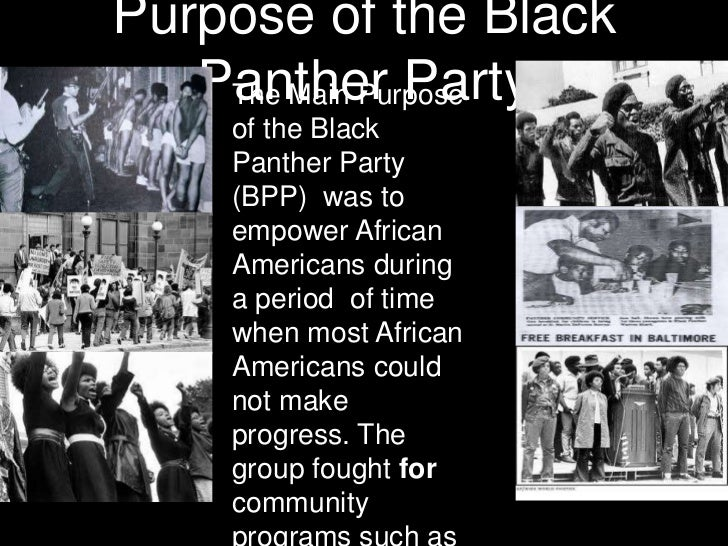 When was the black panther party, deluxe pornstar moies