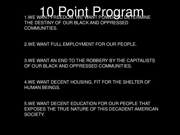 an overview of the black panther party The black panther party is marked for extinction by the us government / in the pages which follow, the guardian weekly newspaper, producers of this supplement, attempt to.
