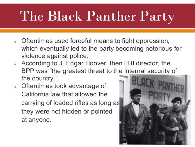 an introduction to the black panther a militant organization of blacks founded in oakland Of radical blacks calling themselves new black panther party  the black panther party from oakland,  small organization in dallas founded in .