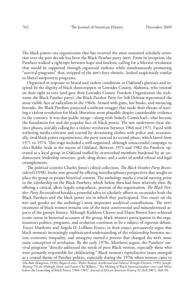an analysis of the black power movement in america Download citation on researchgate | the black power movement: rethinking  the civil rights-black power era | the black power movement remains an  enigma  winter in america: color, democracy, and the presidential election   this essay examines the evolving racial and pacifist politics of civil rights leader  james.