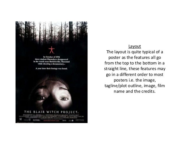 an analysis of the horror film the blair witch trials Horror is one of the most interesting genres of film it dares to push the limits of societal conventions, and serves to shock and scare the audience.
