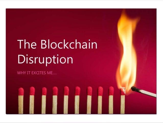 Technology Management Image: The Blockchain Disruption
