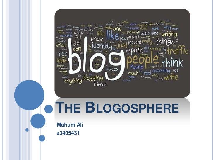 THE BLOGOSPHEREMahum Aliz3405431