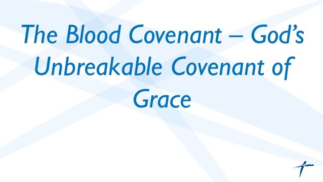 how to break a blood covenant