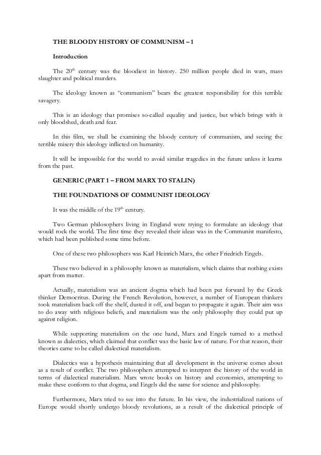 essay on communism pdf