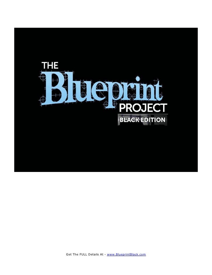 how to make a blueprint for a project