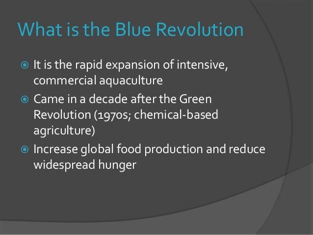 The blue revolution.pptx - SlideShare
