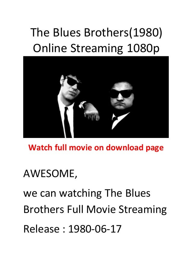 blues brothers 1980 download