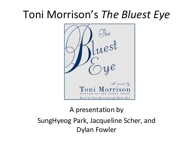 an essay on toni morrisons novel the bluest eye