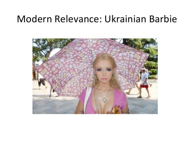 Modern Relevance: Ukrainian Barbie
