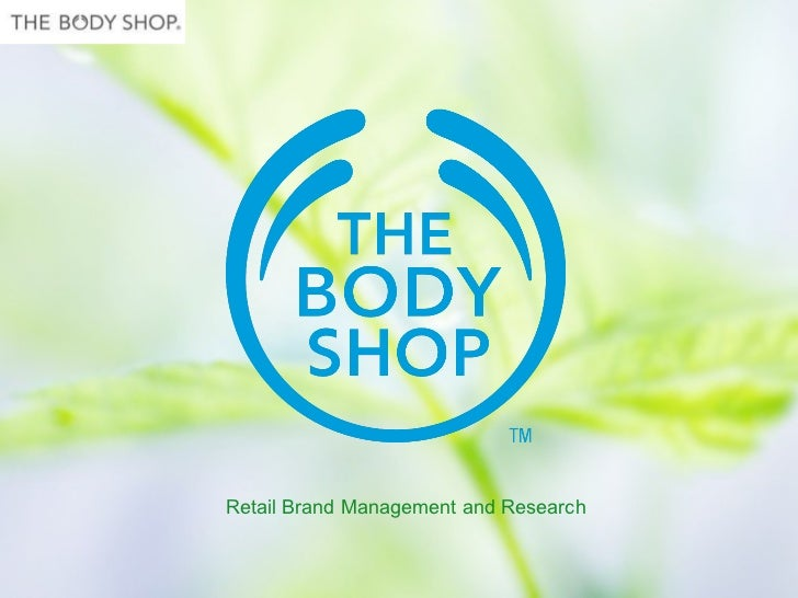 Retail Brand Management and Research